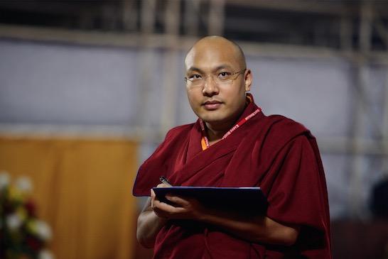 Karmapa-Seattle-2015-With Laptop-SM-Filip Wolak Photography