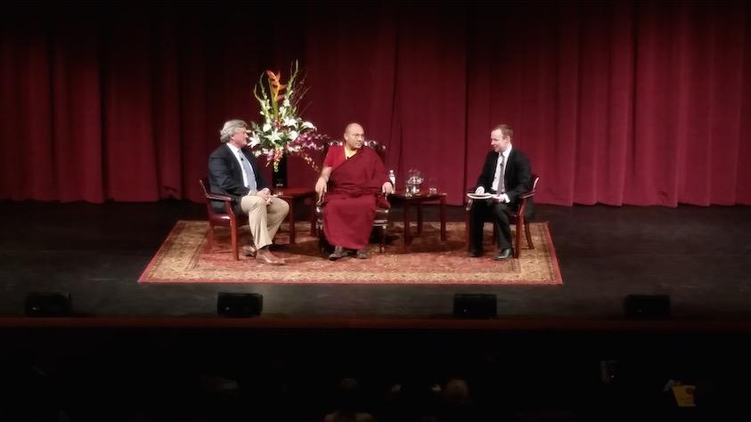 HHK-Karmapa-2015-Stanford-discussion-Tyler-Dewar-MED