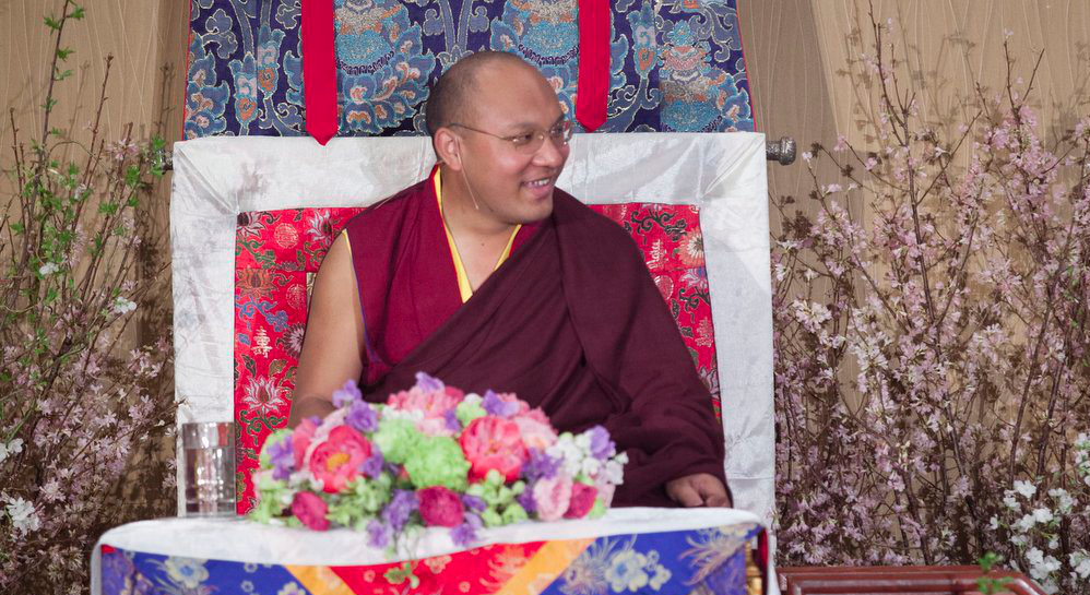 The 17th Karmapa teaches meditation, warns against commercialization and answers questions about meditation practice.