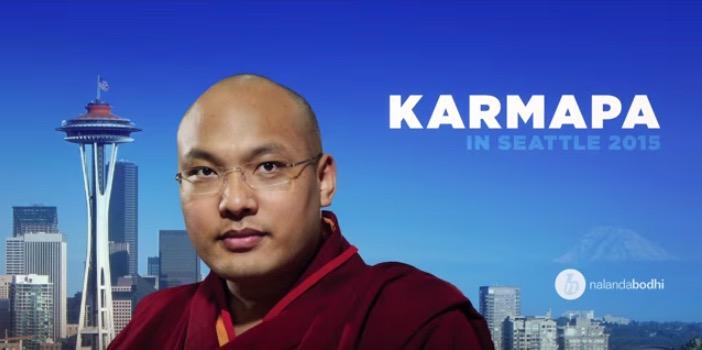HHK-Karmapa-in-Seattle-Nalandabodhi-Screen Shot