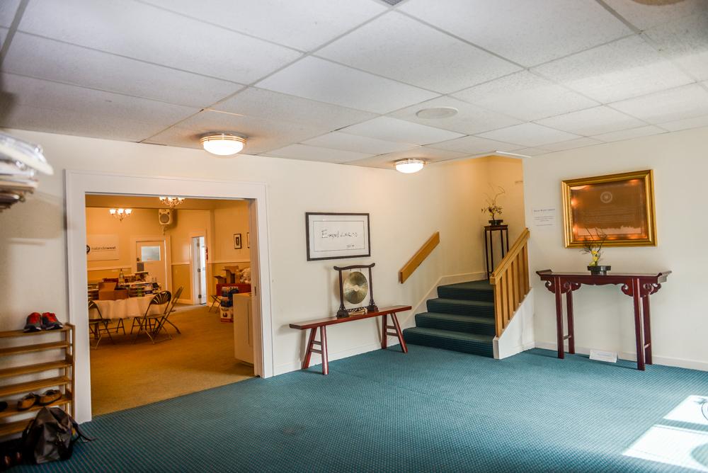 Rental space in Seattle foyer