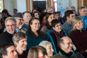 NW10_Audience_laughing_20141116-NalandaWest-by-Scott-Pownall-3109